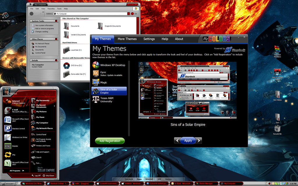 stardock my colors free  windows 7