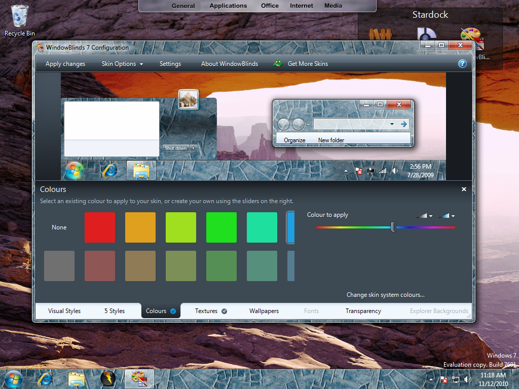 Stardock windows blinds 7.3