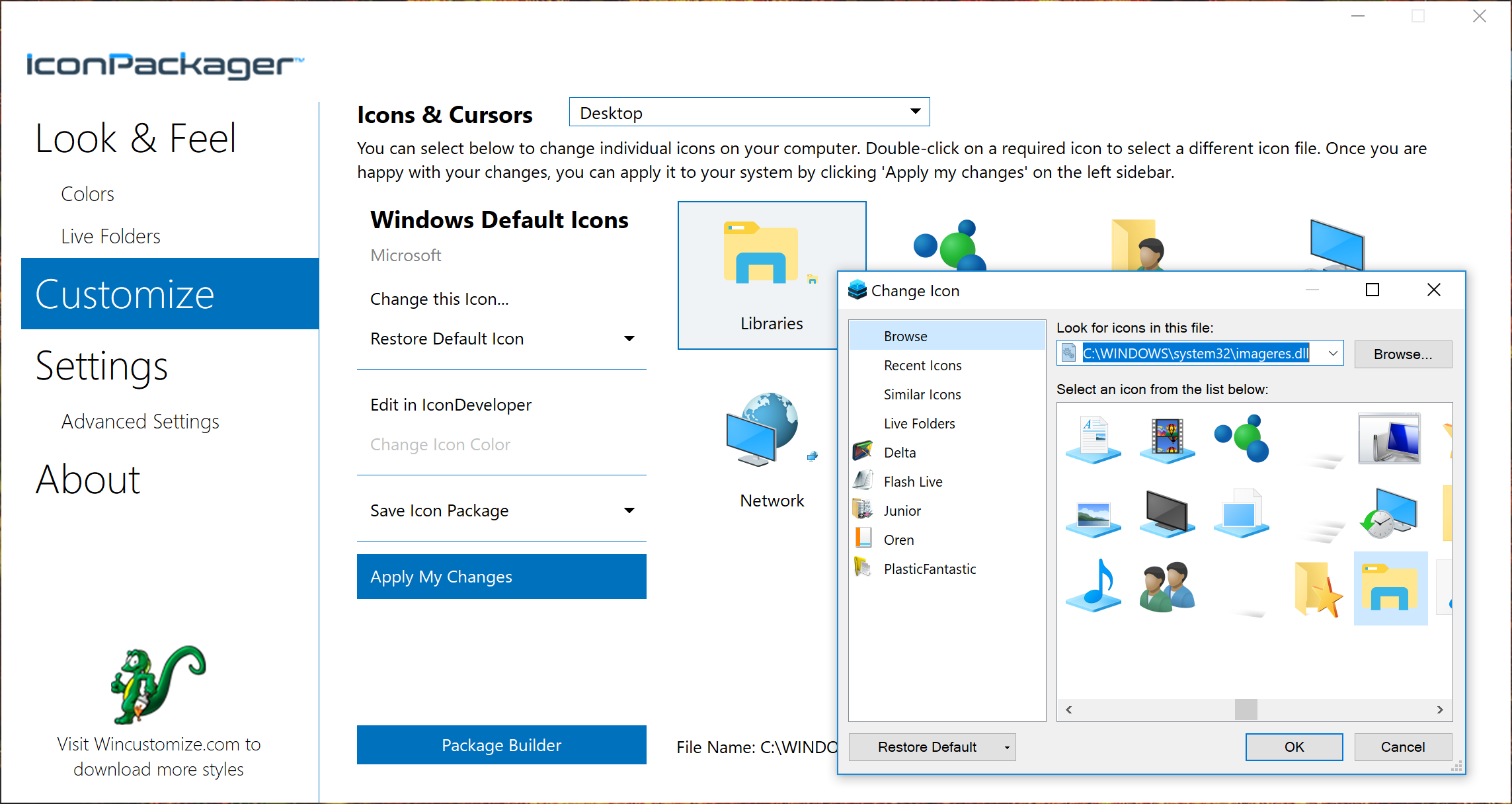 Changing Windows 10 Icons with IconPackager 10 » Forum Post