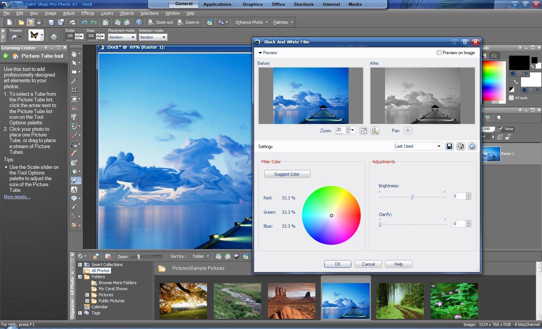 Corel Paint Shop Pro Merge Two Images