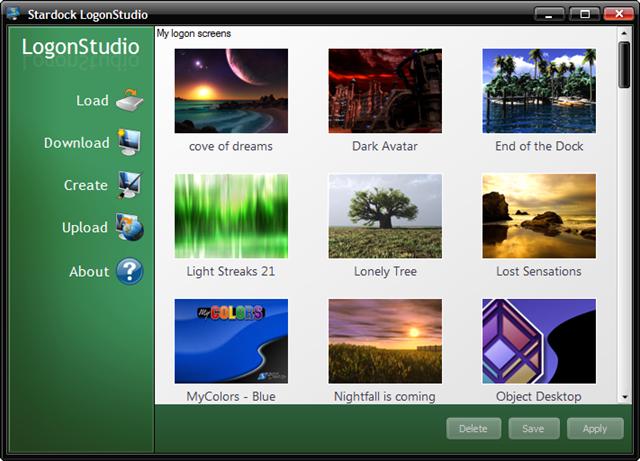 logonstudio windows 7