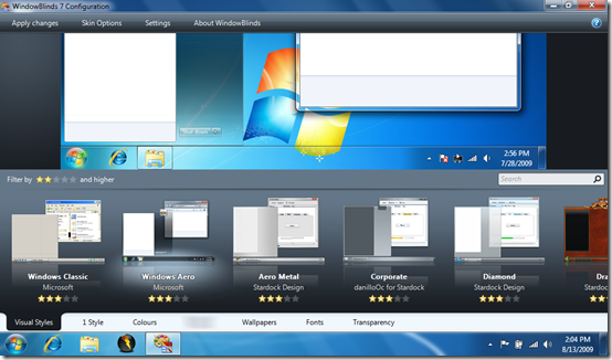 Crack windowblinds 7-Stardock WindowBlinds 7 .01 (русская версия) crack Ска