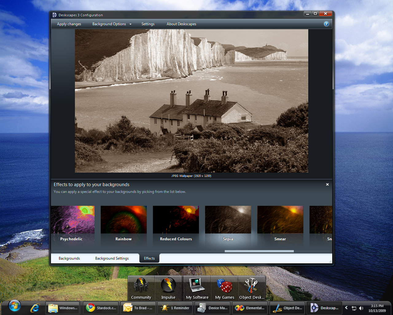 DeskScapes 3 isn't just about animated wallpaper anymore. Now, you ca