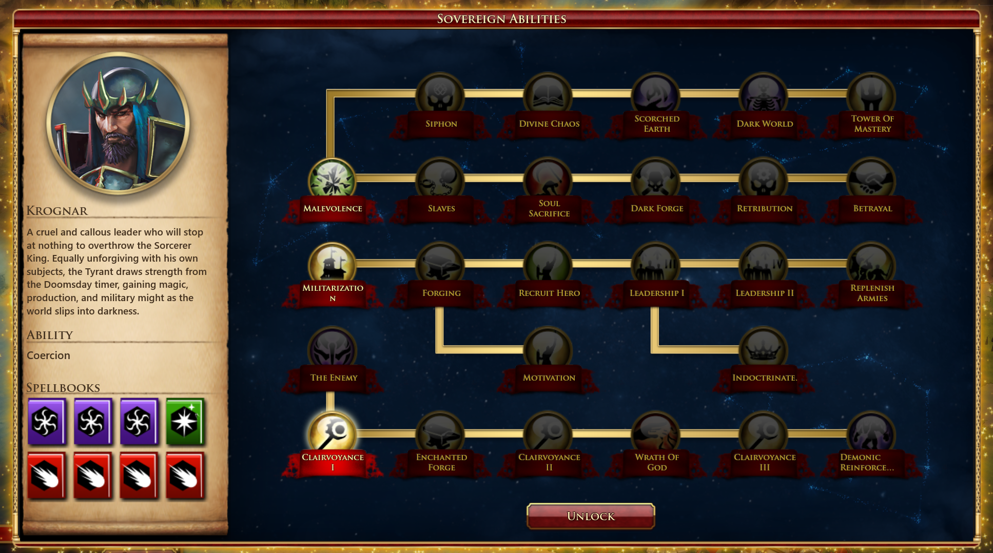 sorcerer king walkthrough forum post by frogboy each sovereign has their own skill tree think of this like a tech tree in a traditional 4x they unlock new abilities city improvements and unique