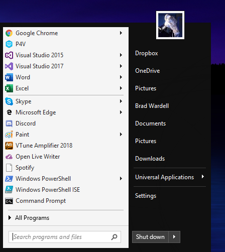 Start10 adds dark mode support to bring back the classic