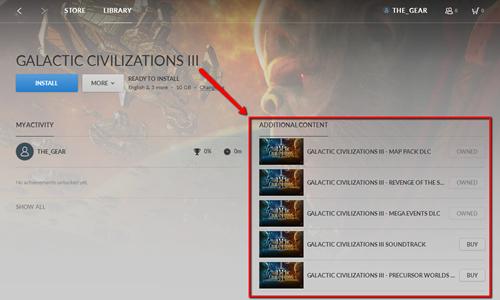 Galactic Civilizations III Support FAQ » Forum Post by Island Dog